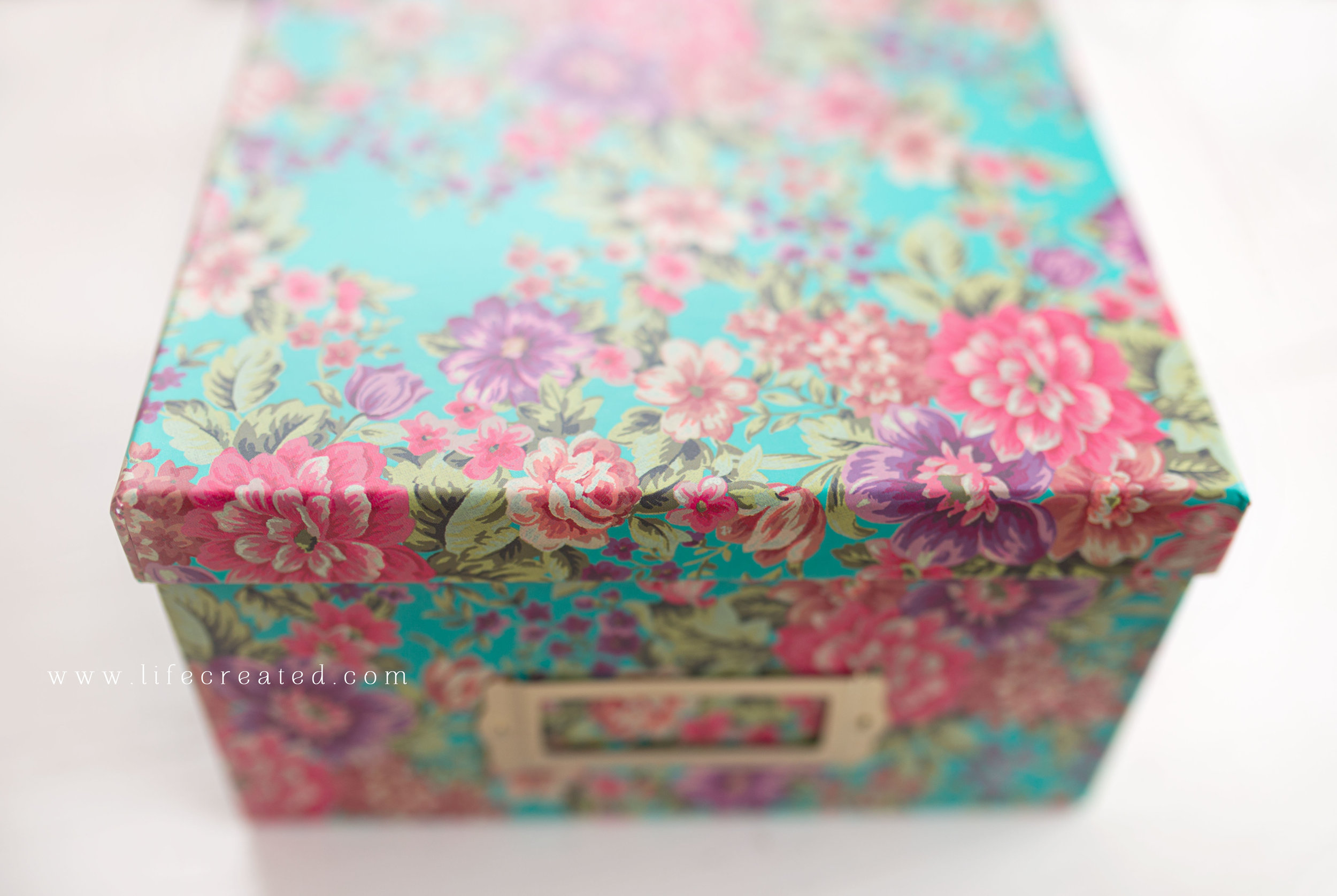 Floral box, Photography