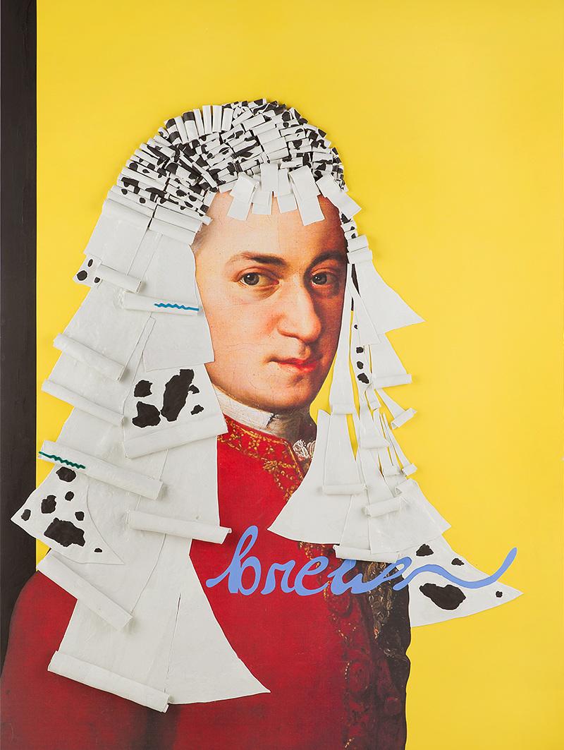 "Timeless SALON ""Mozart"", 1520mm * 2019mm, Mixed Media"