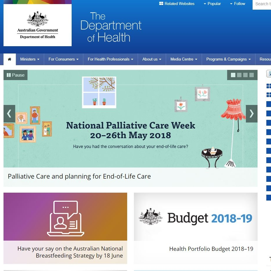 Australian Government - Health