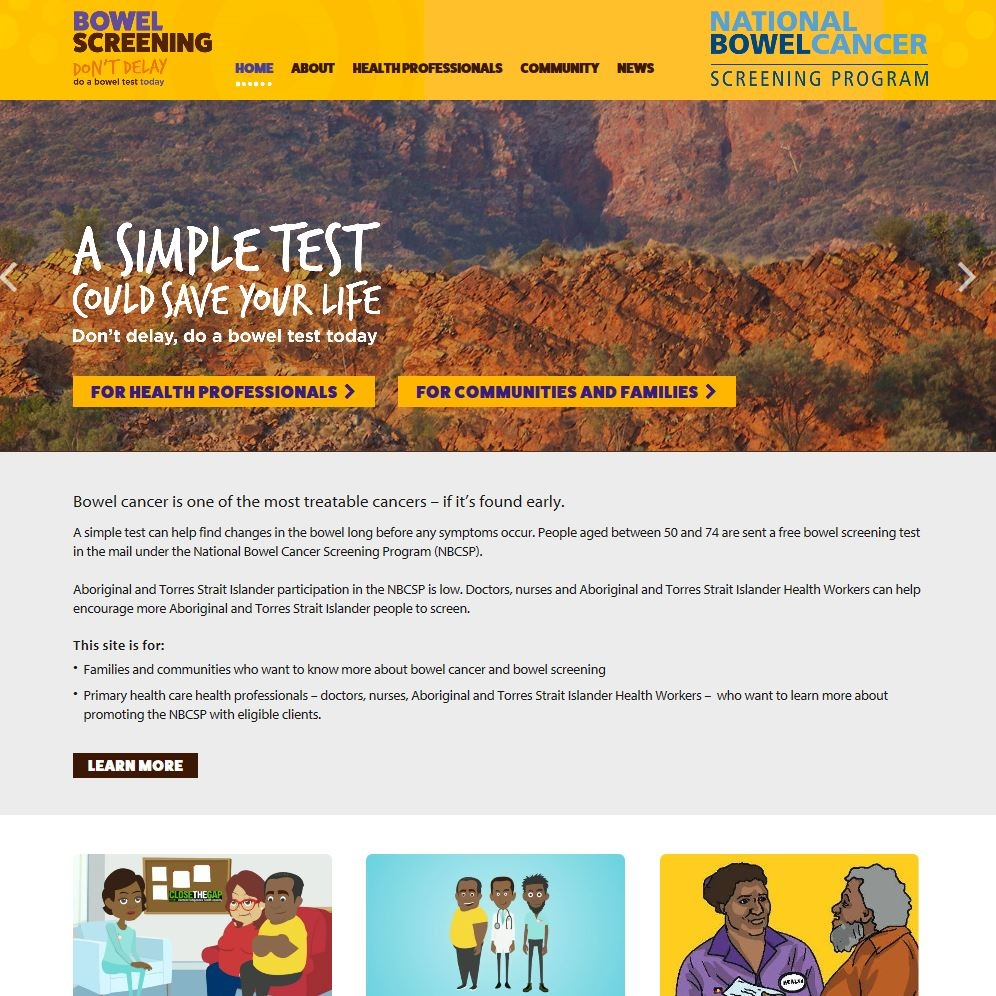 Indigenous Bowel Screening