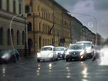 Clear vision in the car and in everyday life – thanks to better definition, less glare and faster focus.