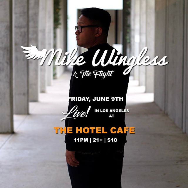 Awwh, yeaa! Hittin' the stage again THIS FRIDAY! This time at @thehotelcafe 😁 Come out and bring the dopest of vibes!