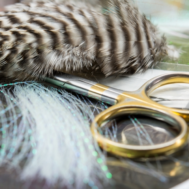 Fly Tying Materials - Photo by  Bozeman Creative
