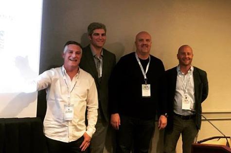 L to R: Matt Coleman, Tyron Bennion, Erik Steigen, Matt Burns