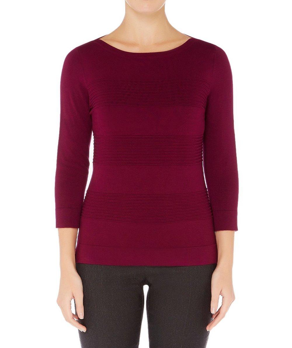 SUZANNE GRAE Ottoman Pullover $39.95
