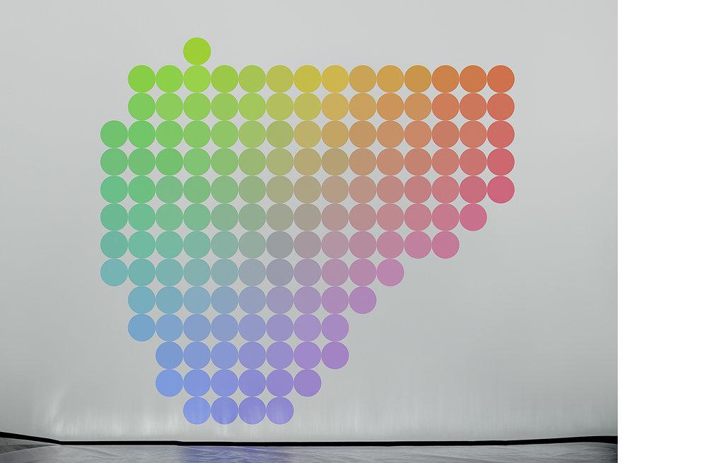 4111-03 Uniform Color Space #03  Pigment Print 5.25 x 7.00 inch Image Size 8.50 x 11.00 inch Paper Size 3 EDP / 4 AP