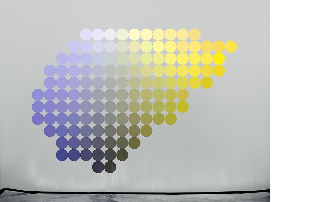 4111-04 Uniform Color Space #04  Pigment Print 5.25 x 7.00 inch Image Size 8.50 x 11.00 inch Paper Size 3 EDP / 4 AP