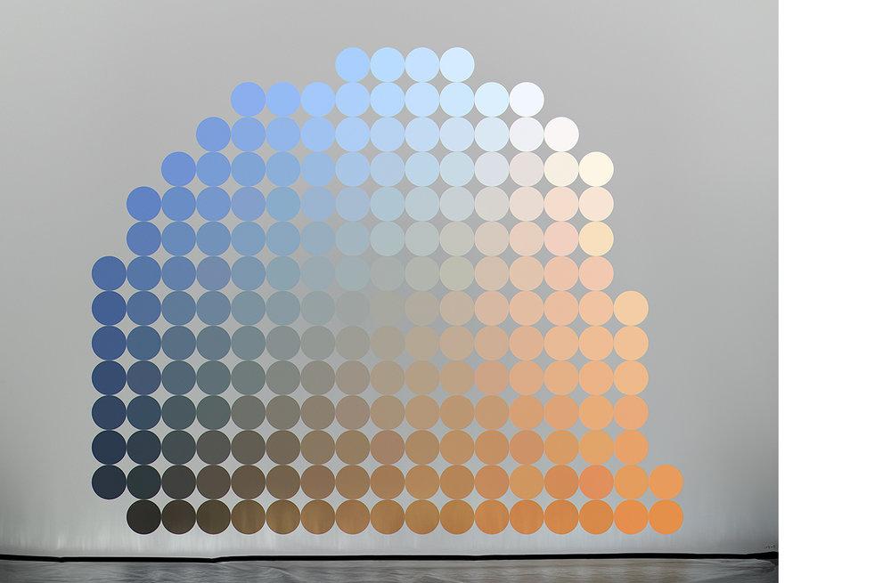 4111-06 Uniform Color Space #06  Pigment Print 5.25 x 7.00 inch Image Size 8.50 x 11.00 inch Paper Size 3 EDP / 4 AP