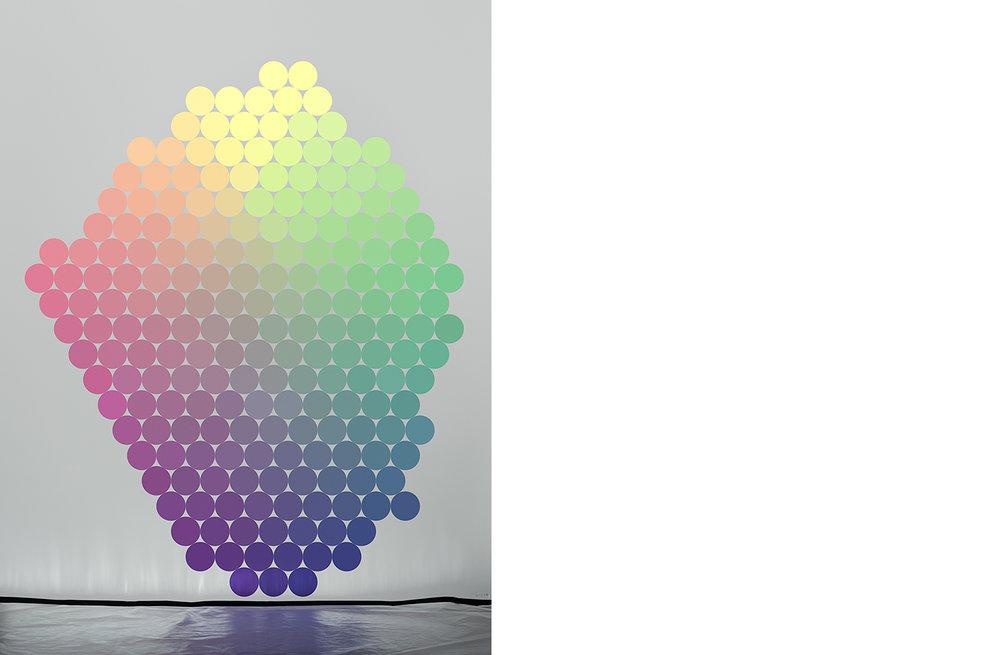 4111-11 Uniform Color Space #11  Pigment Print 5.25 x 7.00 inch Image Size 8.50 x 11.00 inch Paper Size 3 EDP / 4 AP