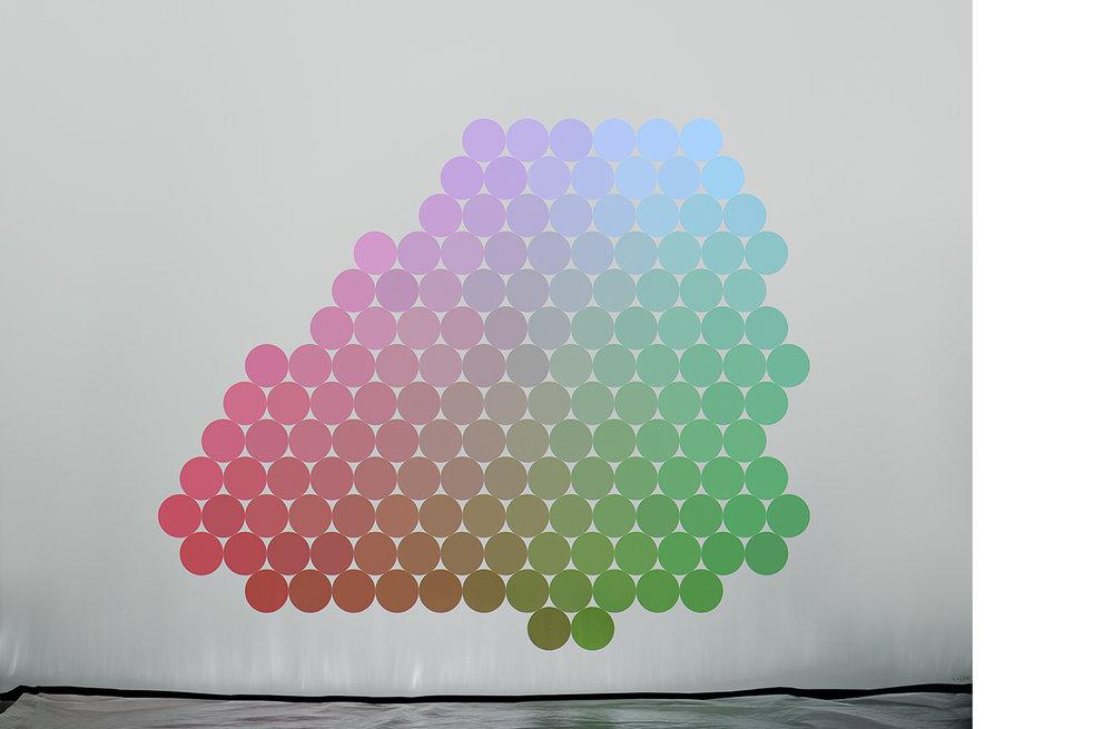 4111-10 Uniform Color Space #10  Pigment Print 5.25 x 7.00 inch Image Size 8.50 x 11.00 inch Paper Size 3 EDP / 4 AP