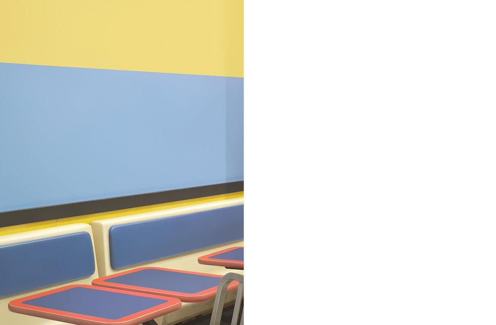 4491-01 Renderings #01  Pigment Print 13.50 x 18.00 inch Image Size 17.00 x 22.00 inch Paper Size 5 EDP / 3 AP / 1 Unique Prints
