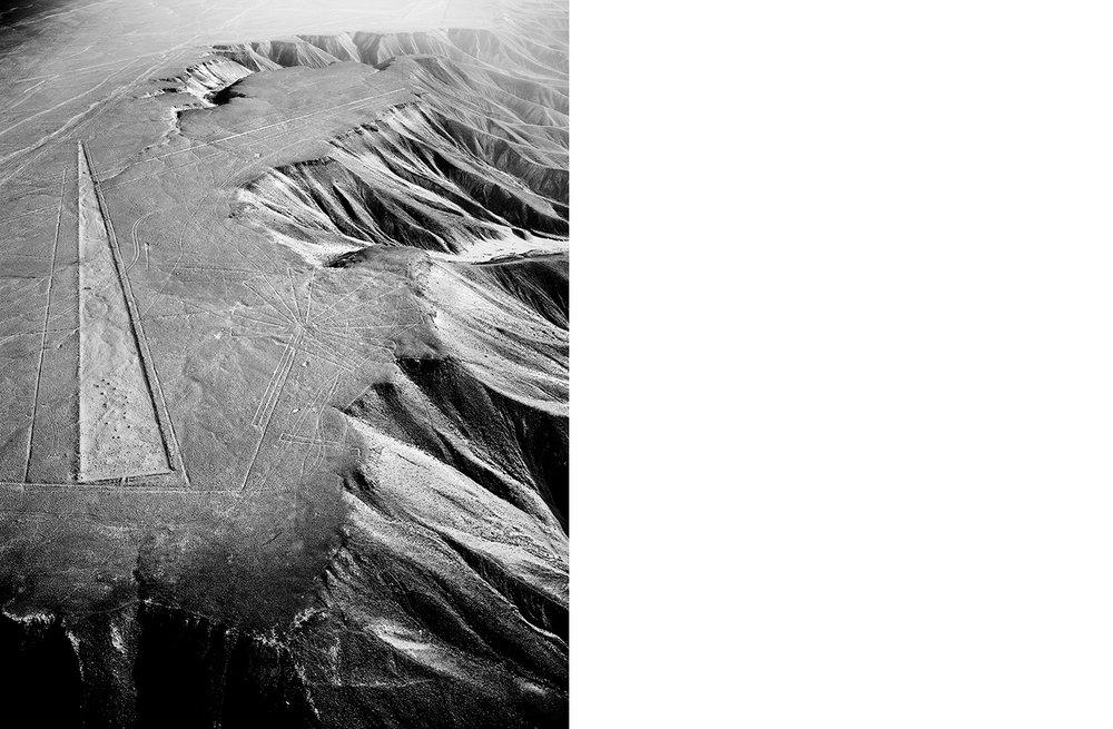6774-01 Nasca #050  Platinum Palladium Print 12.46 x 16.00 inch Image Size 17.00 x 22.00 Paper Size 1 BAT / 1 PP /4 AP / 18 EDP