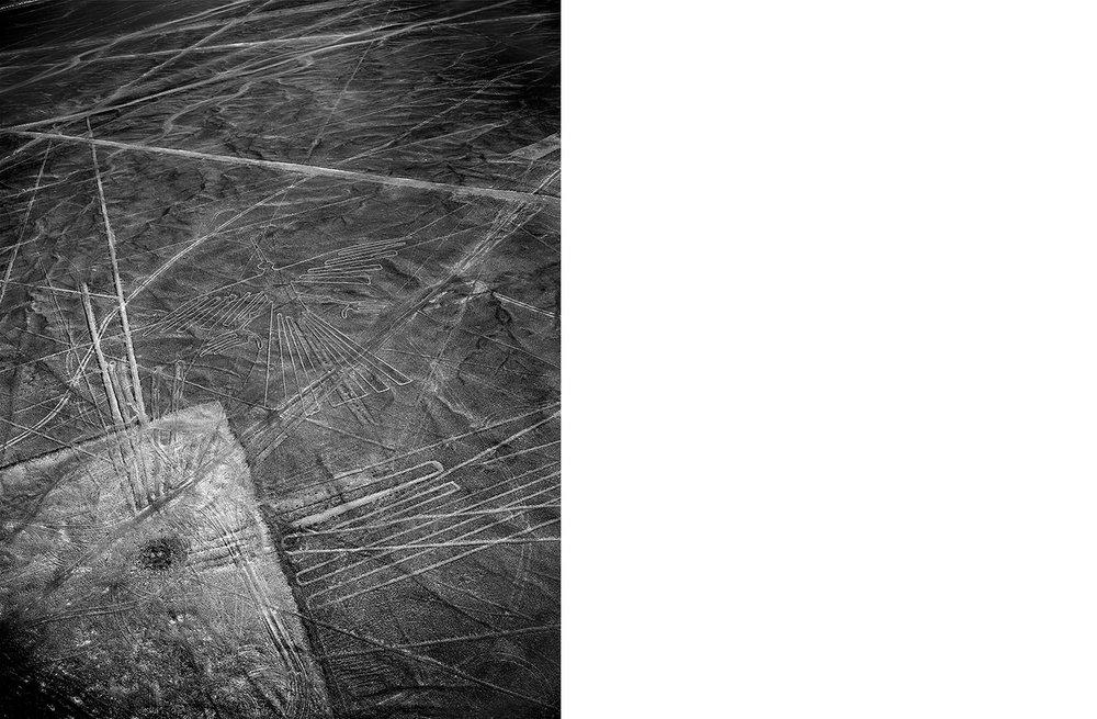 6750-01 Nasca #025  Platinum Palladium Print 12.46 x 16.00 inch Image Size 17.00 x 22.00 Paper Size 1 BAT / 1 PP /2 AP / 18 EDP