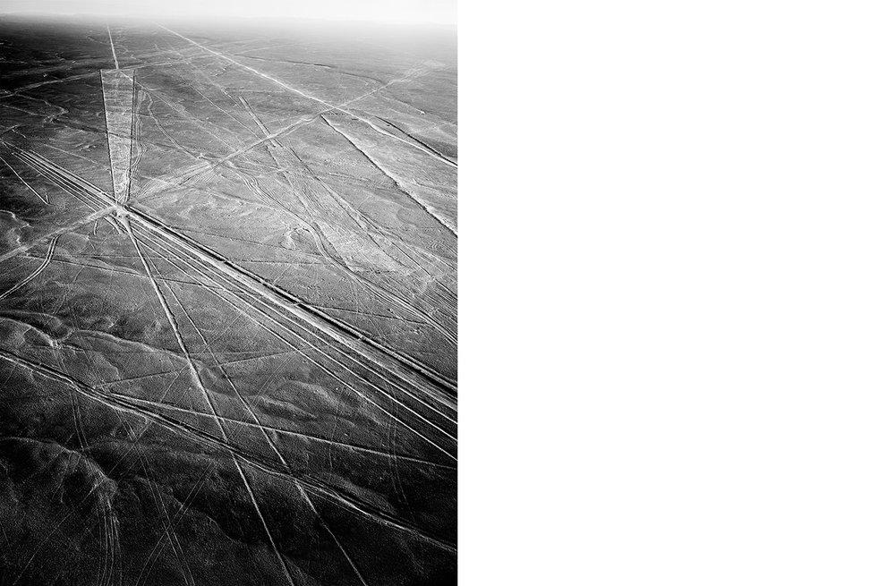 6773-01 Nasca #048  Platinum Palladium Print 12.46 x 16.00 inch Image Size 17.00 x 22.00 Paper Size 1 BAT / 1 PP /3 AP / 6 EDP