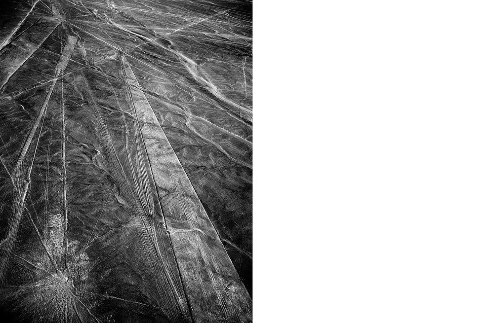 6764-01 Nasca #039  Platinum Palladium Print 12.46 x 16.00 inch Image Size 17.00 x 22.00 Paper Size 1 BAT / 1 PP /2 AP / 6 EDP