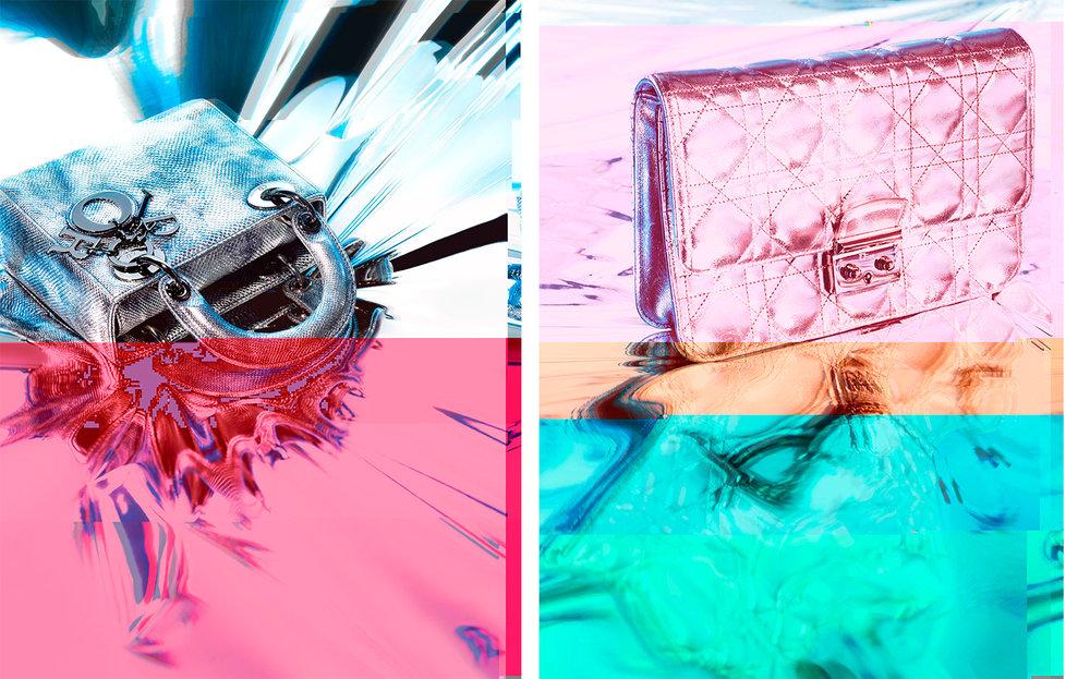 Dior Magazine METALLIC SHIMMER   CREATIVE DIRECTOR Fabien Baron ART DIRECTOR Philipp Muessigmann