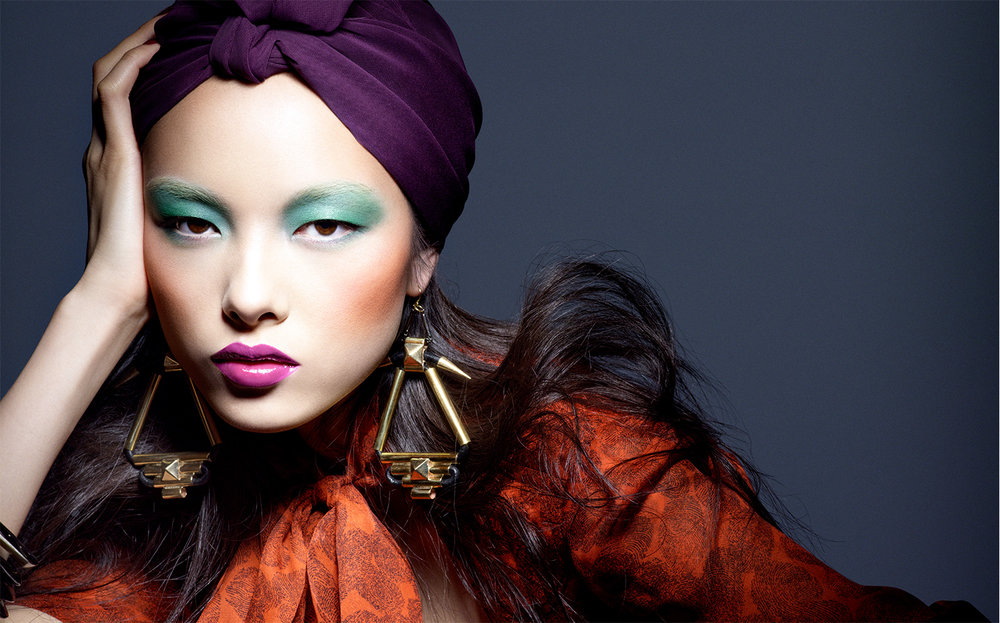 Vogue China COLOR KALEIDOSCOPE   FASHION EDITOR Tiina Laakkonen MAKE UP Makky Pratayot