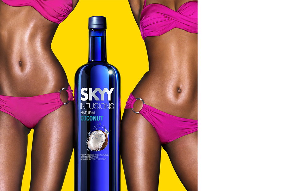 SKYY Vodka   AGENCY Lambesis CREATIVE DIRECTOR Chad Farmer