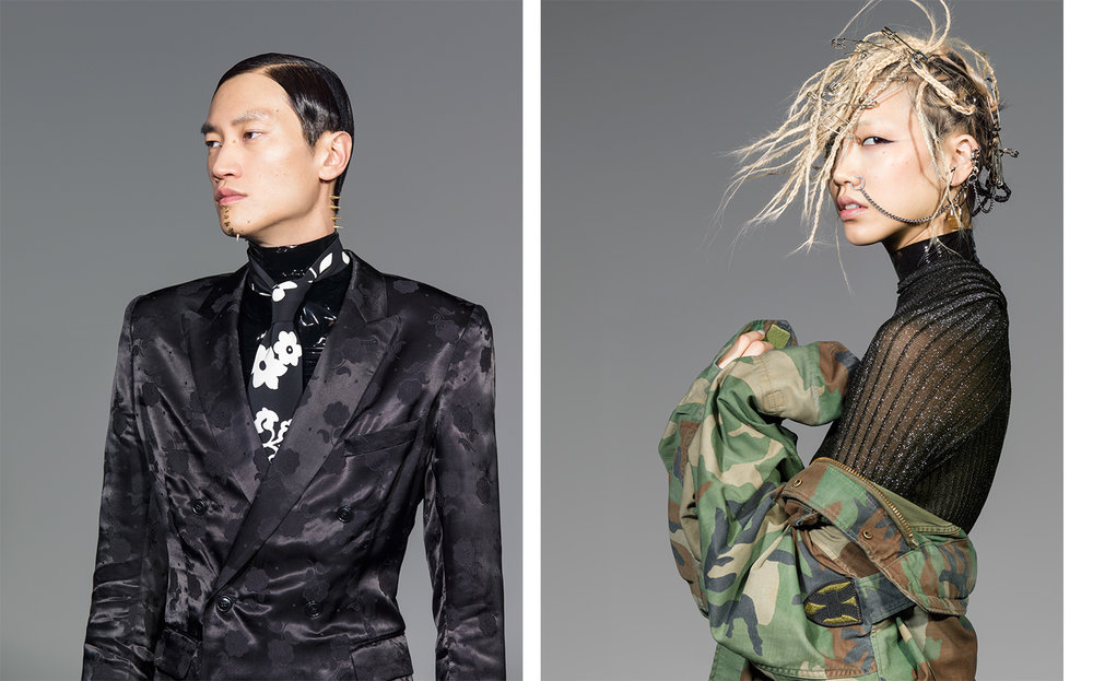 Vogue Japan THE POWER OF HAIR   BEAUTY DIRECTOR Kathy Phillips MAKE UP & HAIR Katsuya Kamo