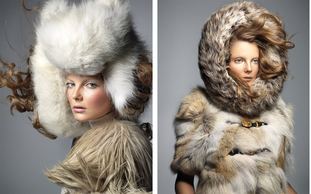 Vogue Nippon THE WINTER WHITE   FASHION EDITOR Elissa Santisi MAKE UP Lisa Houghton
