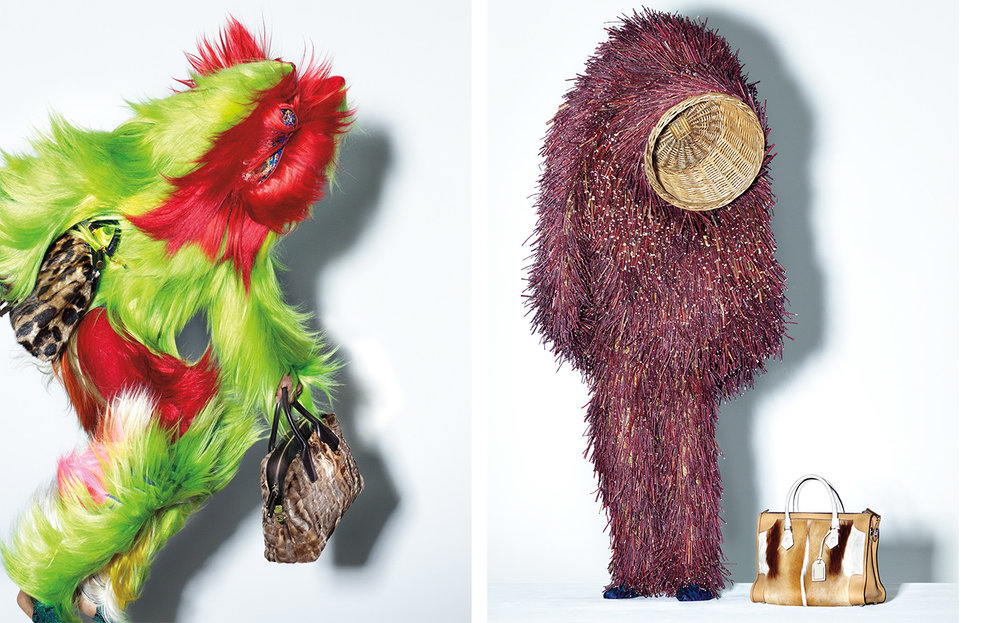 Vogue MONSTER'S INC   FASHION EDITOR Elissa Santisi ARTIST Nick Cave