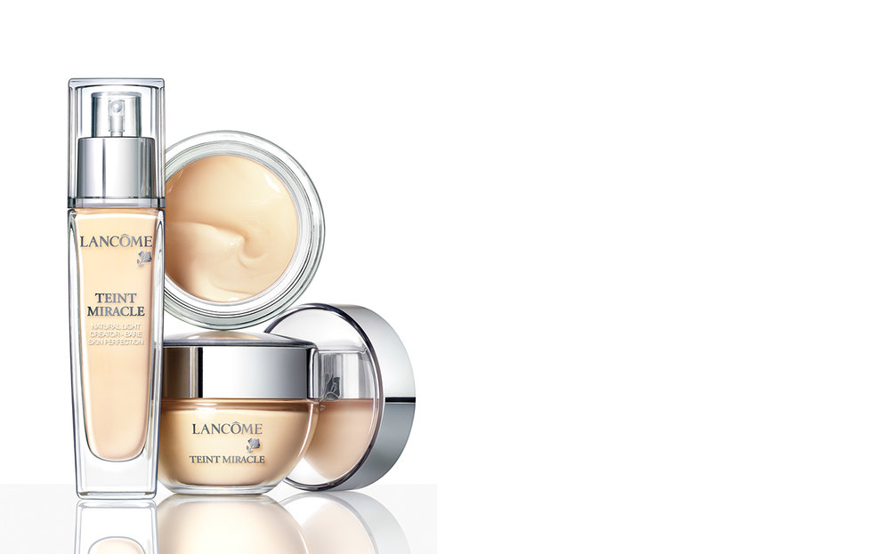 Lancôme TEINTE MIRACLE   AGENCY Higher + Higher ART DIRECTOR Patrik Nyman