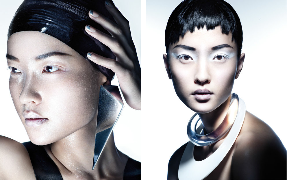 Vogue China WHITENING   FASHION EDITOR Tiina Laakkonen MAKE UP Makky Pratayot