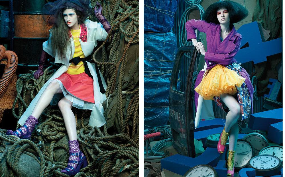T Magazine MAIDEN VOYAGE   FASHION EDITOR Tiina Laakkonen SET DESIGN Andrea Stanley