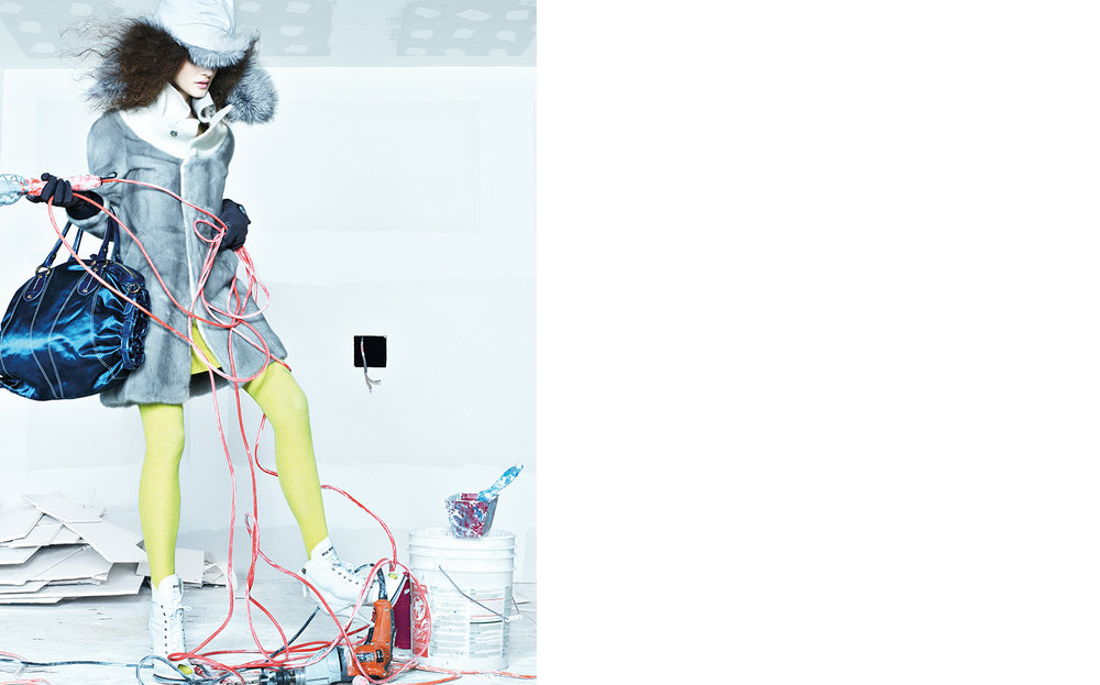 Vogue UP TO CODE   DESIGN DIRECTOR Charles Churchward FASHION EDITOR Elissa Santisi