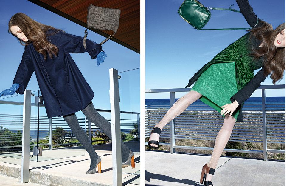 Vogue SWINGERS   DESIGN DIRECTOR Charles Churchward FASHION EDITOR Elissa Santisi