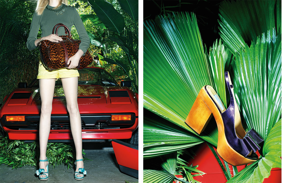 Vogue THE LIFE EXOTIC   DESIGN DIRECTOR Charles Churchward FASHION EDITOR Elissa Santisi