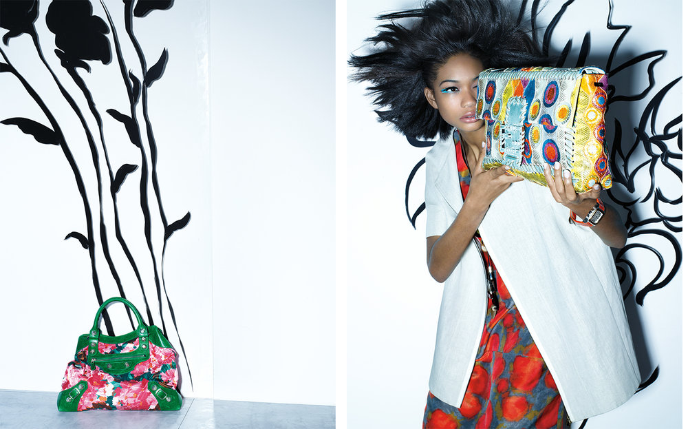 Vogue FULL TINT AHEAD   DESIGN DIRECTOR Charles Churchward FASHION EDITOR Elissa Santisi