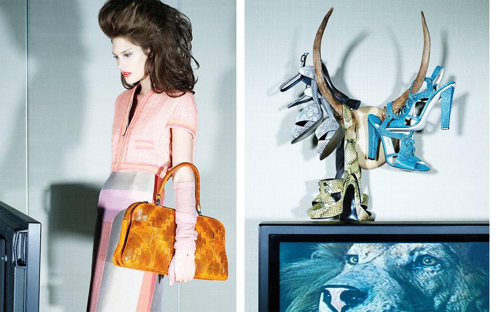 Vogue GRAND SCALES   DESIGN DIRECTOR Charles Churchward FASHION EDITOR Elissa Santisi