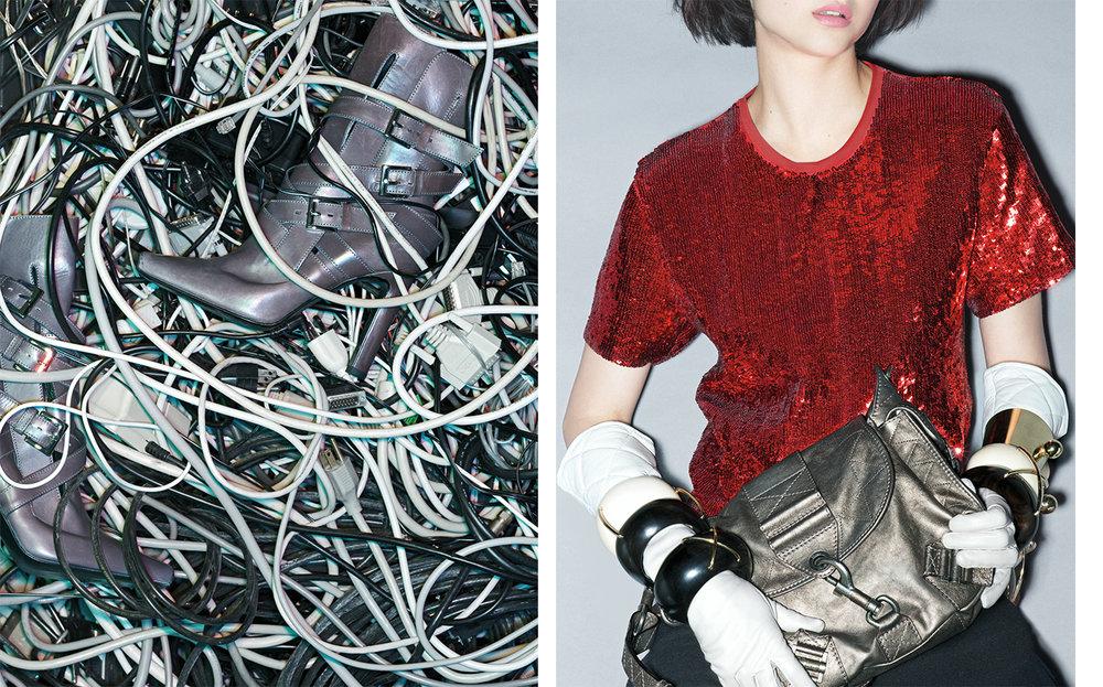 Vogue TOUGHEN UP   FASHION EDITOR Elissa Santisi MODEL Patricia Schmid