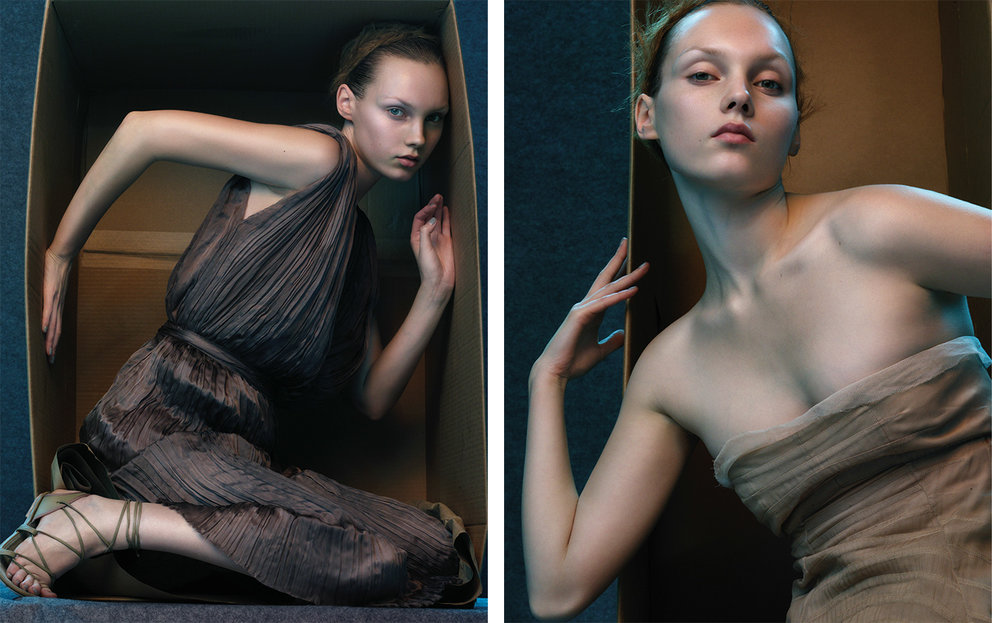 Flair SOFT   FASHION EDITOR Tiina Laakkonen MAKE UP Fulvia Farolfi