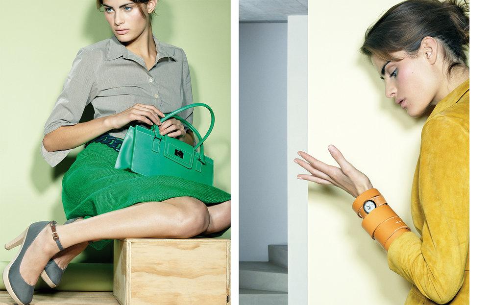 Vogue DREAMING IN COLOR   FASHION EDITOR Elissa Santisi DESIGN DIRECTOR Charles Churchward