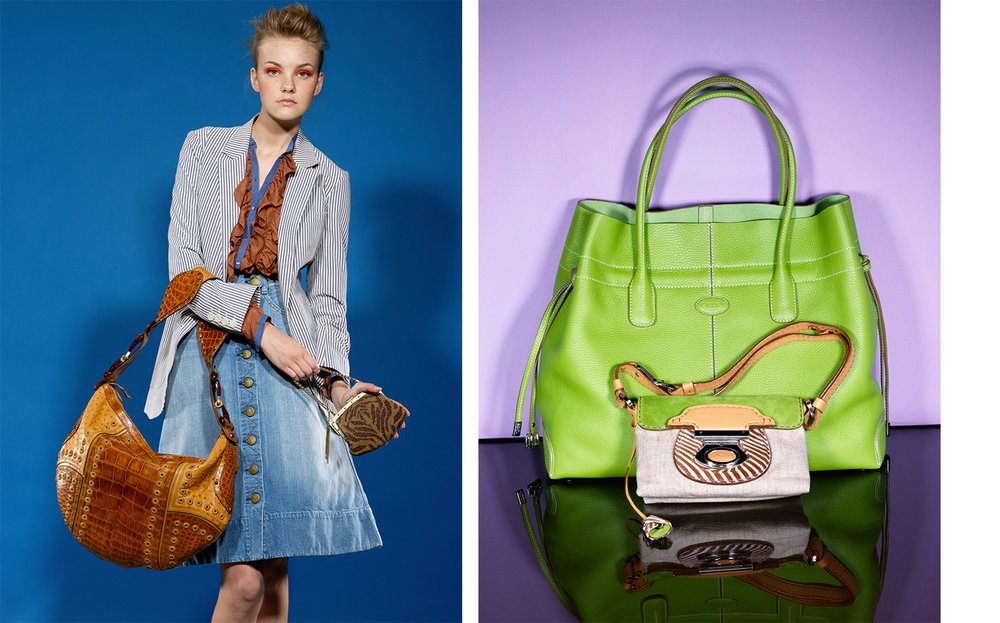 Vogue DOUBLE BAG IT   FASHION EDITOR Elissa Santisi DESIGN DIRECTOR Charles Churchward