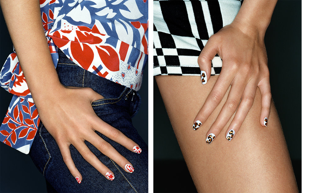 Teen Vogue FIT TO PRINT   FASHION EDITOR Elissa Santisi MANICURIST Jin Soon Choi
