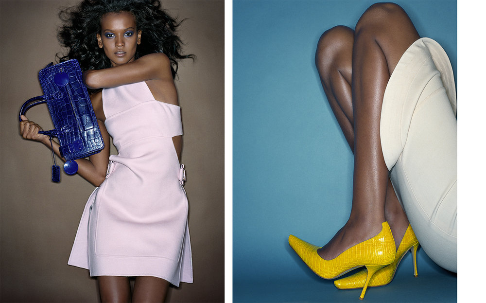 Vogue AMERICA'S MOST WANTED   FASHION EDITOR Elissa Santisi MODEL Liya Kebede