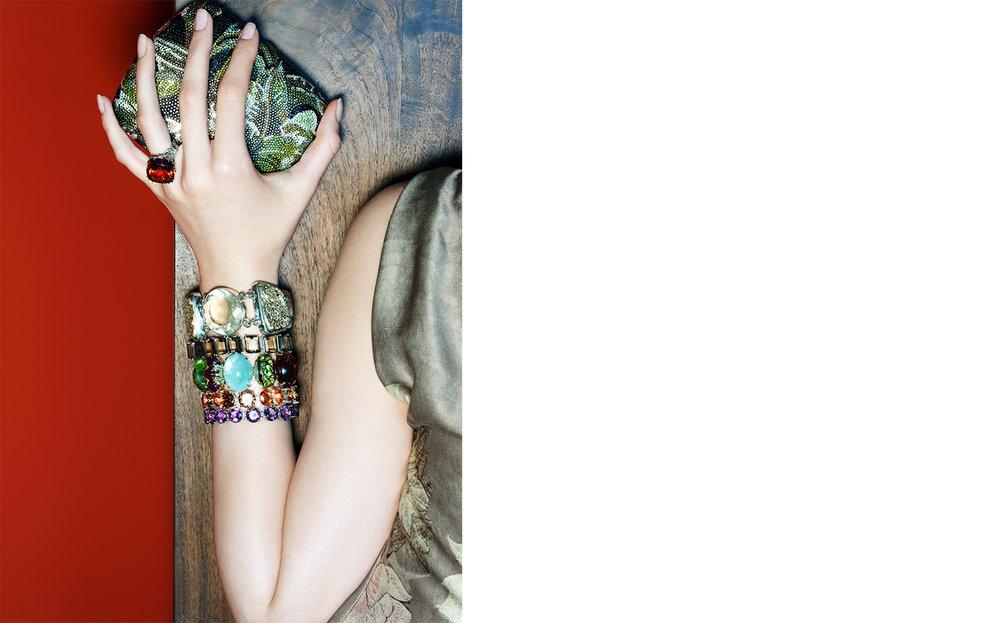 Vogue HOT ROCKS   FASHION EDITOR Elissa Santisi CREATIVE DIRECTOR Charles Churchward