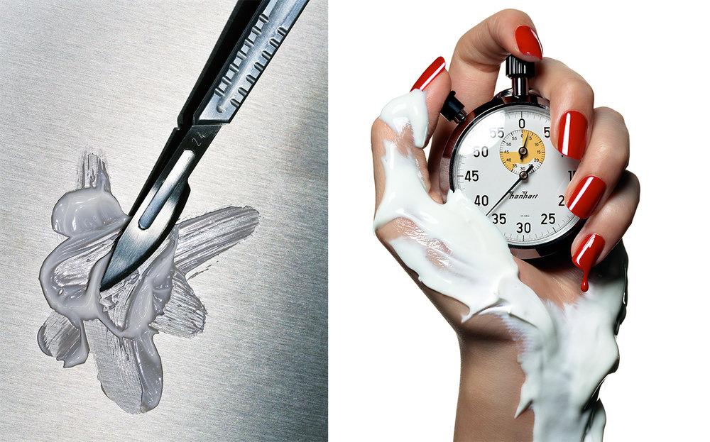 Vogue NO SCALPEL REQUIRED POWER HOUR   CREATIVE DIRECTOR Charles Churchward MANICURIST Jin Soon Choi