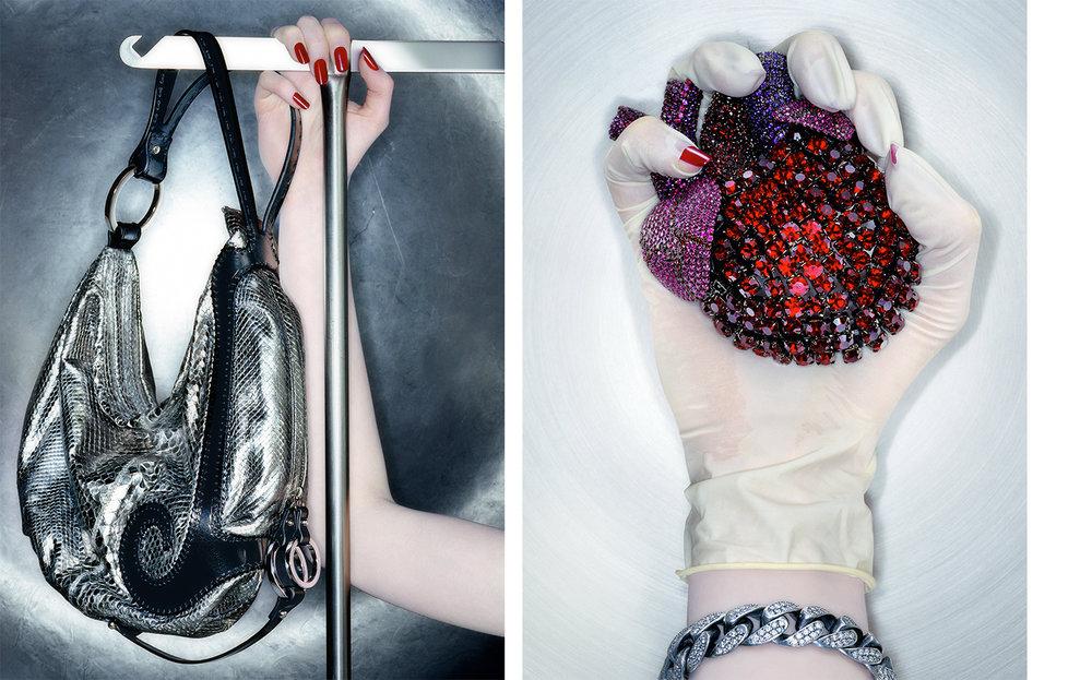 Vogue QUICK SILVER   FASHION EDITOR Elissa Santisi CREATIVE DIRECTOR Charles Churchward