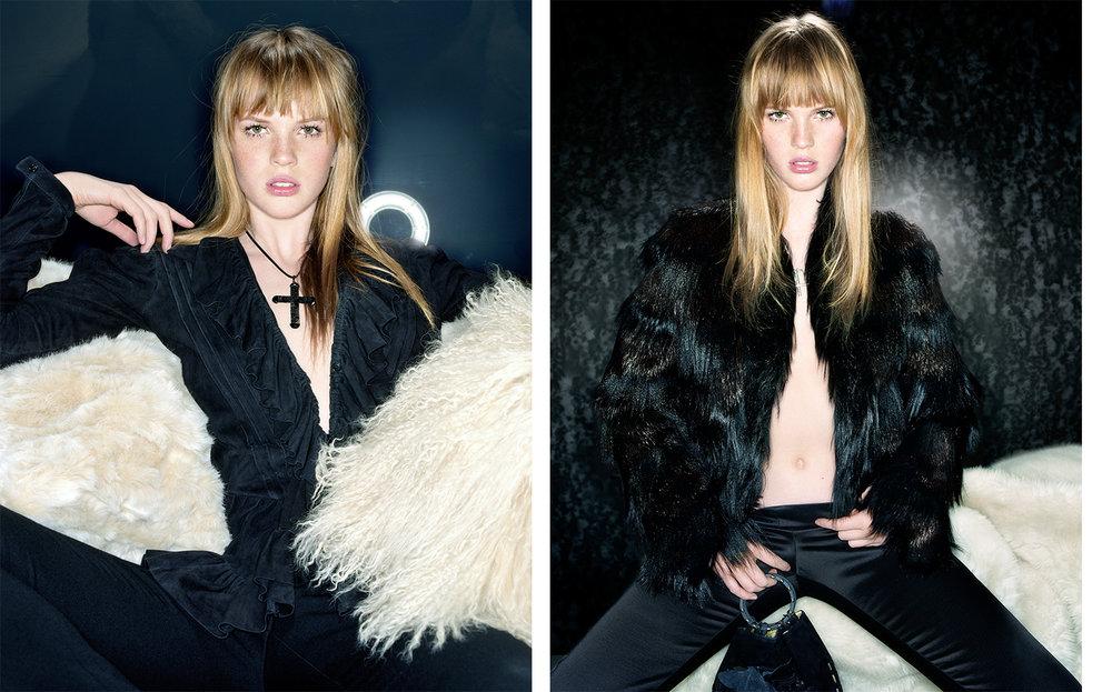 British Vogue SPELL BOUND   FASHION EDITOR Madeleine Christie CREATIVE DIRECTOR Robin Derrick