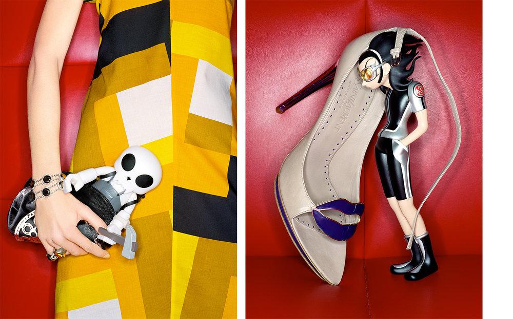 Vogue ELECTRIC LADYLAND   FASHION EDITOR Elissa Santisi DESIGN DIRECTOR Charles Churchward