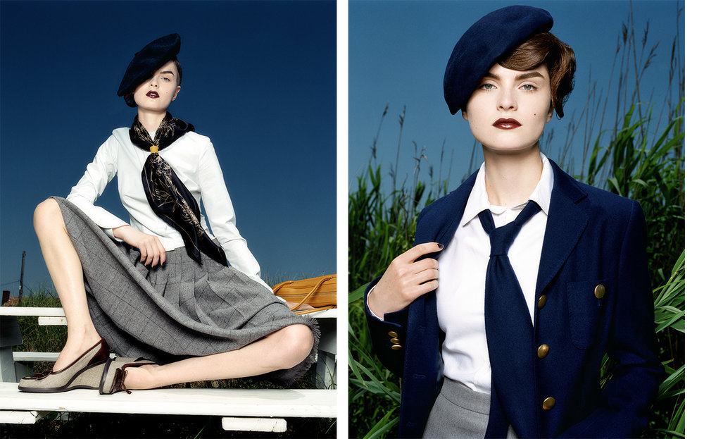 Vogue Japan FAYE'S WAY   FASHION EDITOR Ako Tanaka MODEL Anouck Lepere
