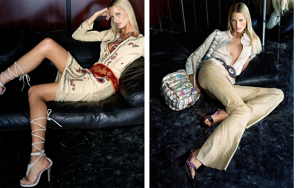 British Vogue BRAVE NEW WORLD   FASHION EDITOR Madeleine Christie MODEL Karolina Kurkova