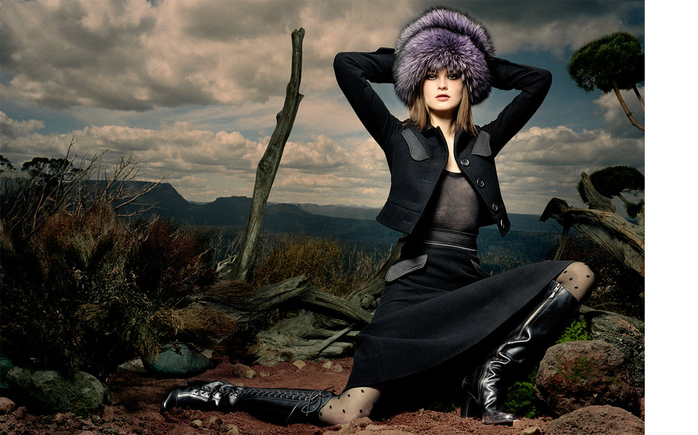 Vogue SUDDEN IMPACT   FASHION EDITOR Elissa Santisi MODEL Anouck Lepere