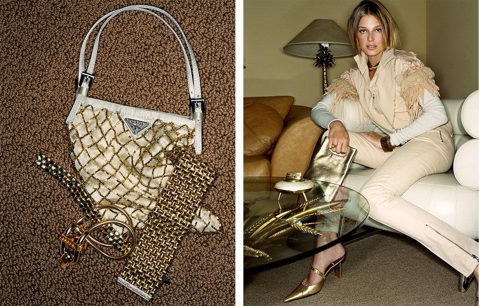 British Vogue GILT TRIP   FASHION EDITOR Tiina Laakkonen CREATIVE DIRECTOR Robin Derrick
