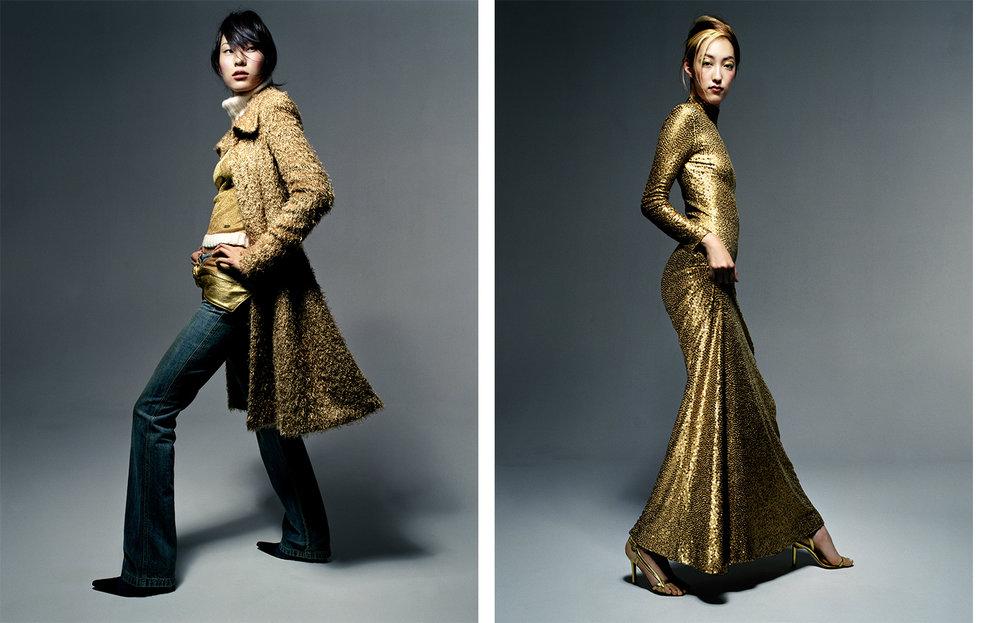 Vogue Japan DRESSING BY DECADE   FASHION EDITOR Tiina Laakkonen CREATIVE DIRECTOR Debbie Smith