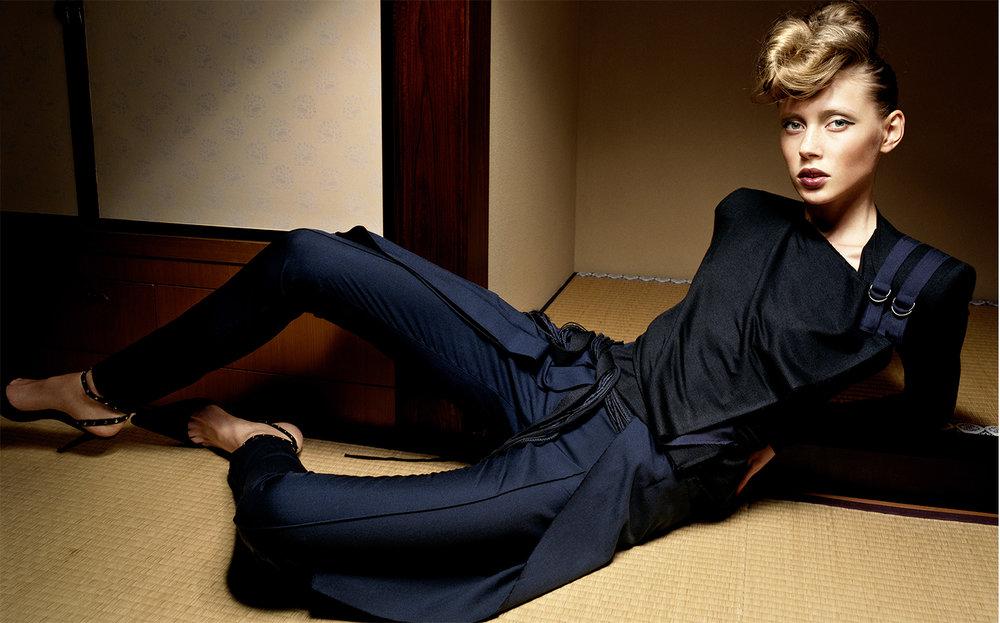 Vogue Japan SKIN GAME   FASHION EDITOR Tiina Laakkonen CREATIVE DIRECTOR Debbie Smith